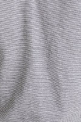 Jersey T-shirt in 100% cotton, MEDIUM GREY 3, detail