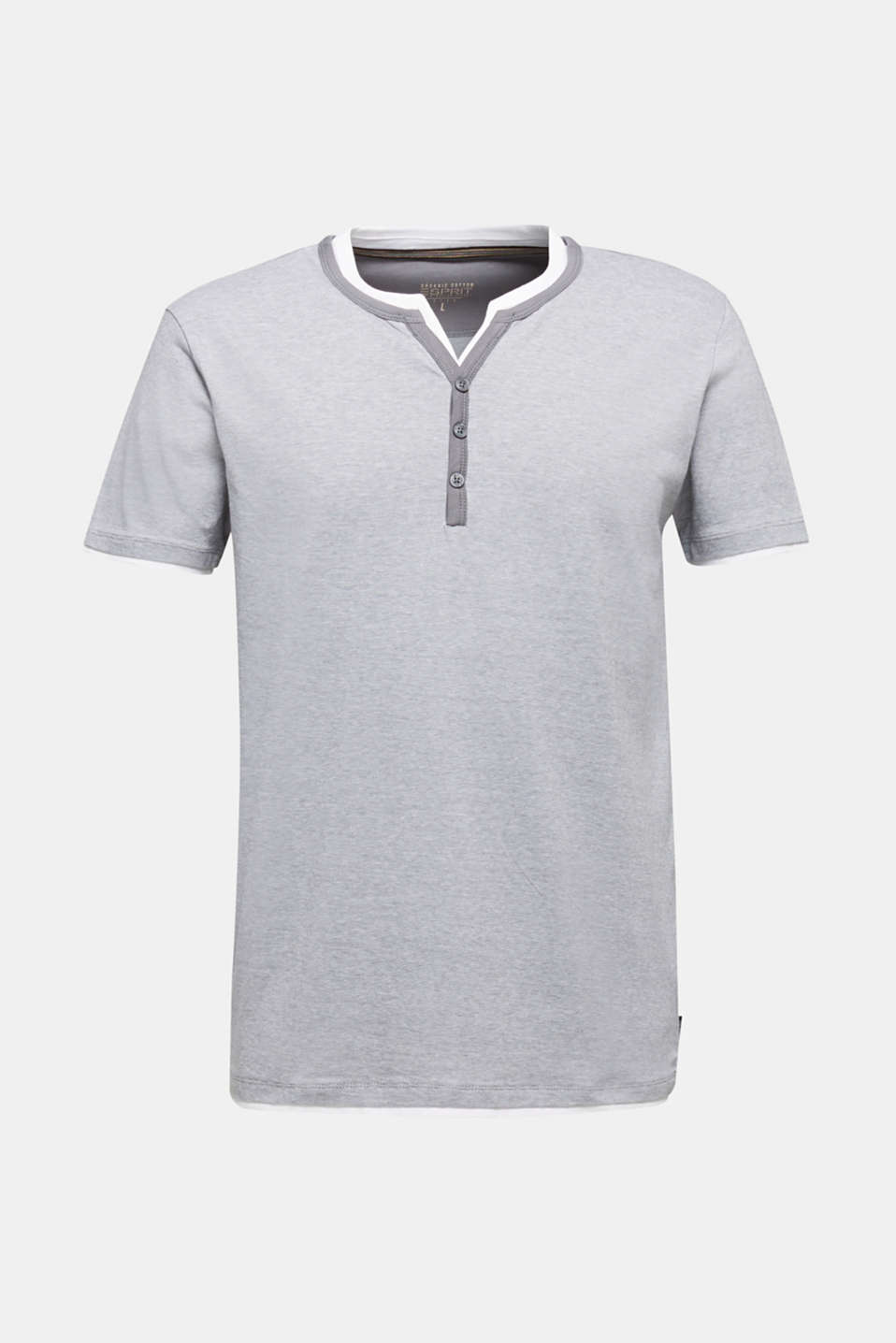 Jersey T-shirt in 100% cotton, MEDIUM GREY 3, detail image number 6