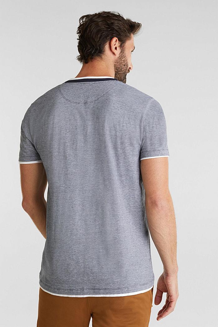 Jerseyowa koszulka w 100% z bawełny, NAVY, detail image number 3