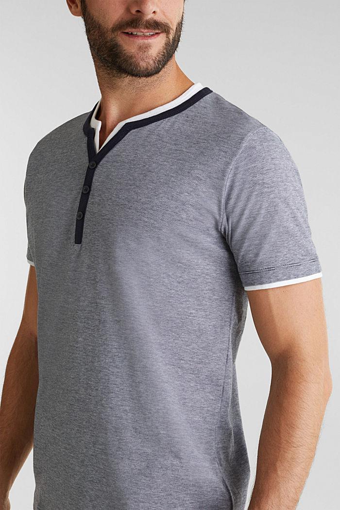 Jerseyowa koszulka w 100% z bawełny, NAVY, detail image number 1