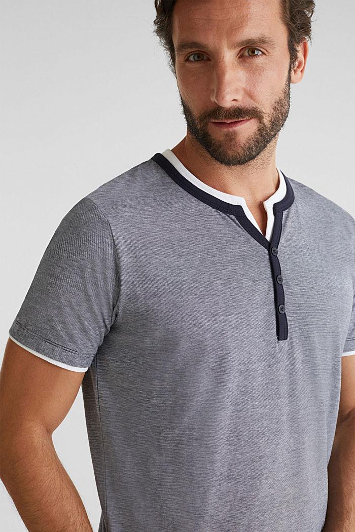 Jerseyowa koszulka w 100% z bawełny, NAVY, detail image number 5