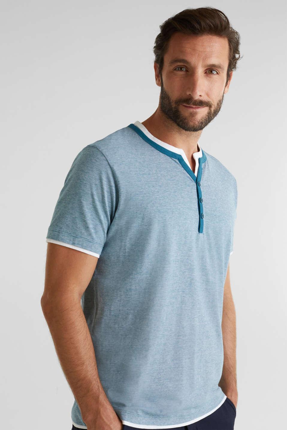 T-Shirts, PETROL BLUE 3, detail image number 0