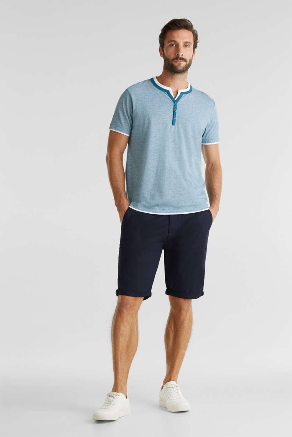 T-Shirts, PETROL BLUE 3, detail image number 2