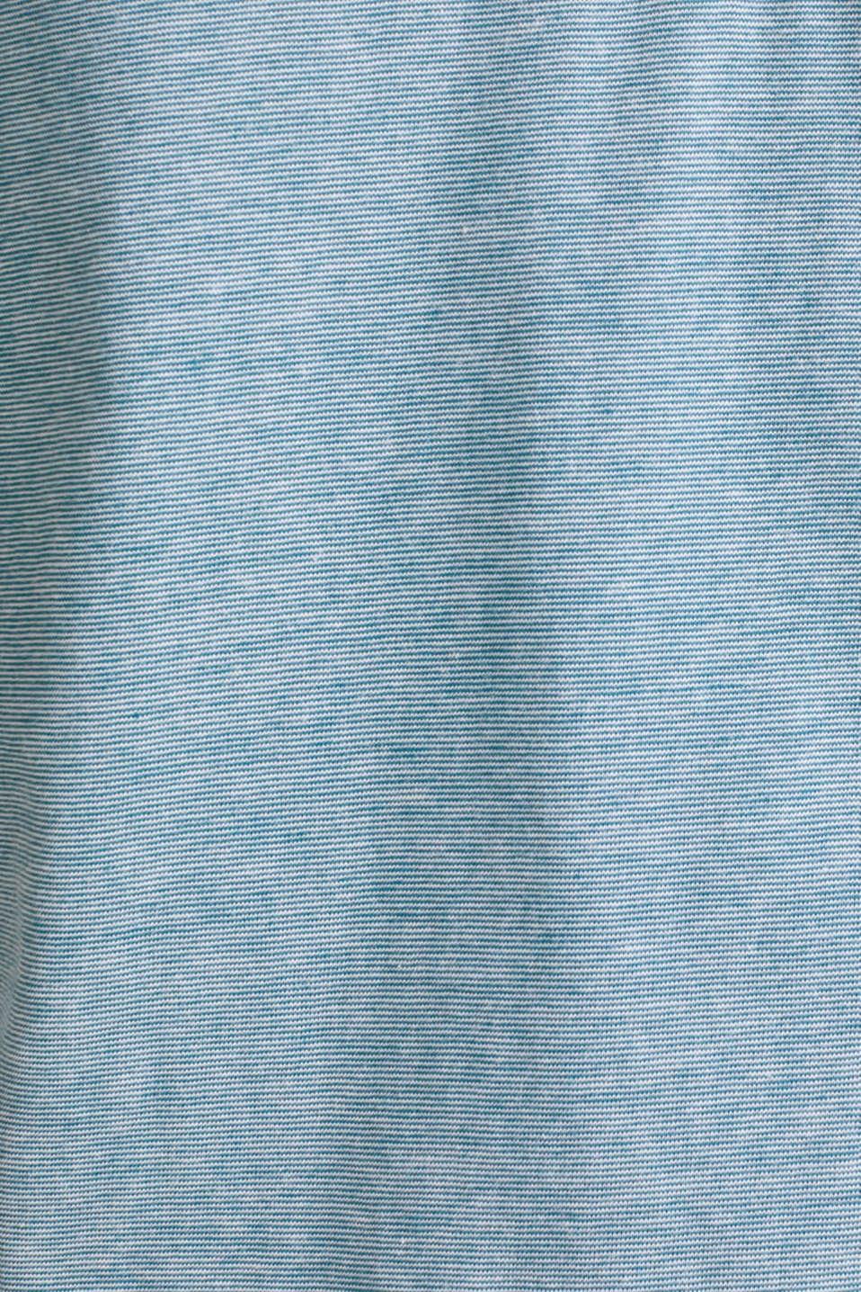 T-Shirts, PETROL BLUE 3, detail image number 4