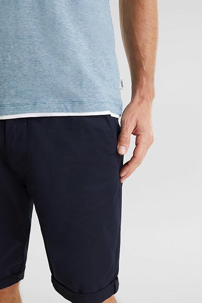 Jersey-Shirt aus 100% Baumwolle, PETROL BLUE, detail image number 5