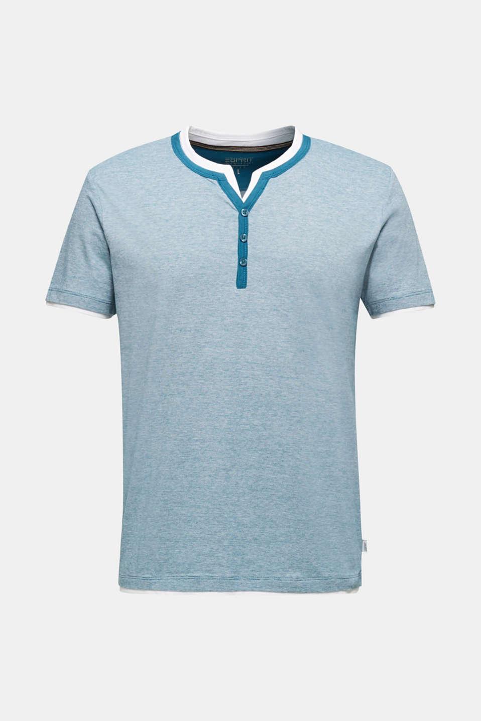 T-Shirts, PETROL BLUE 3, detail image number 5