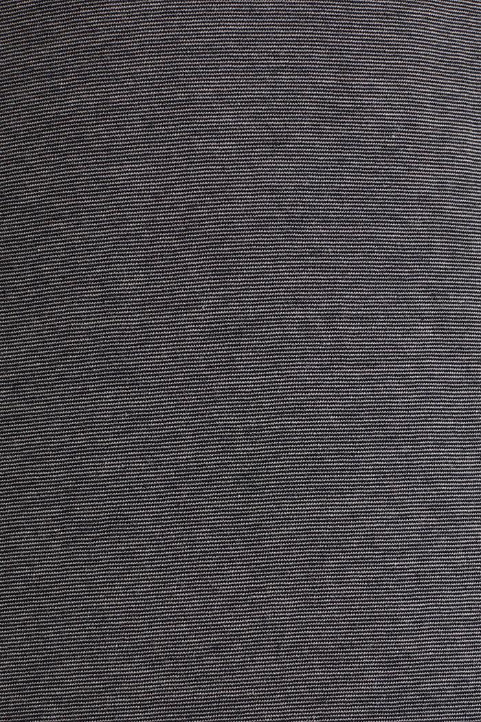 Jersey-Longsleeve aus 100% Baumwolle, BLACK, detail image number 3