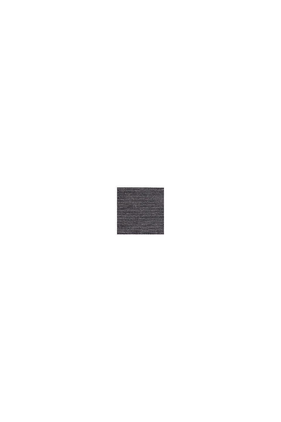 Jersey longsleeve van 100% katoen, BLACK, swatch