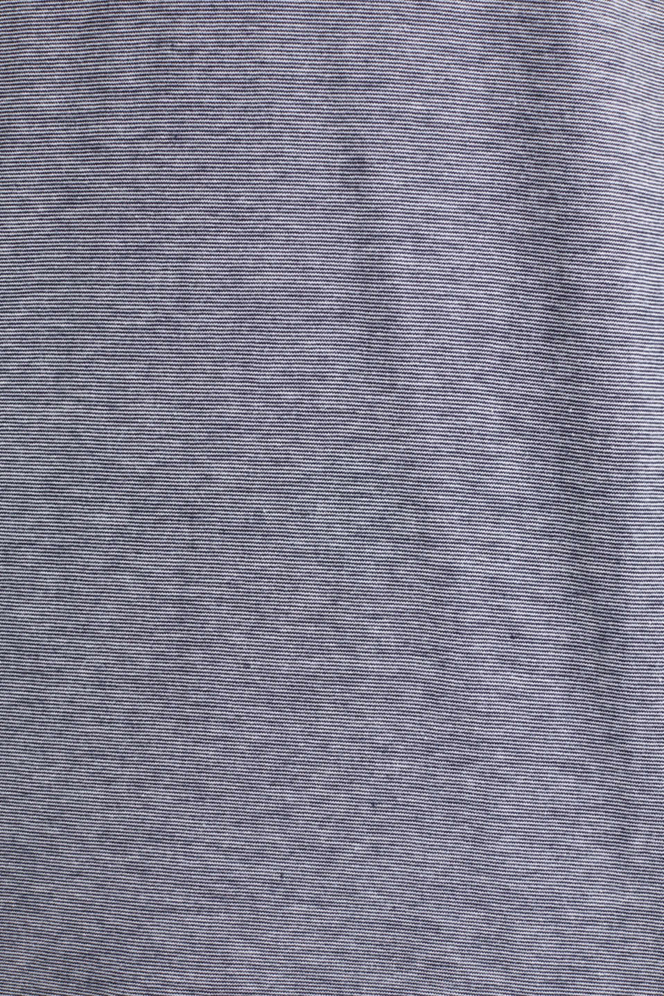 Long sleeve jersey top in 100% cotton, NAVY 3, detail image number 4