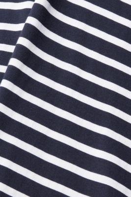 Jersey T-shirt in 100% cotton, NAVY 3, detail