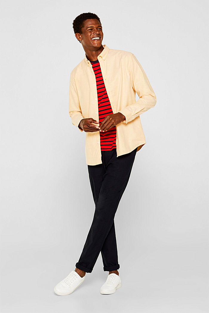 Jersey-Shirt aus 100% Baumwolle, RED, detail image number 2