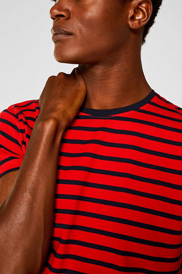 Jersey-Shirt aus 100% Baumwolle, RED, detail image number 1