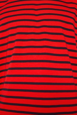 Striped jersey T-shirt in 100% cotton
