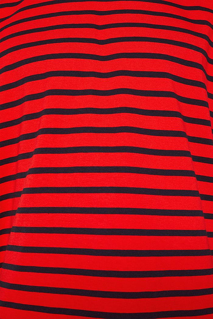 Jersey-Shirt aus 100% Baumwolle, RED, detail image number 5