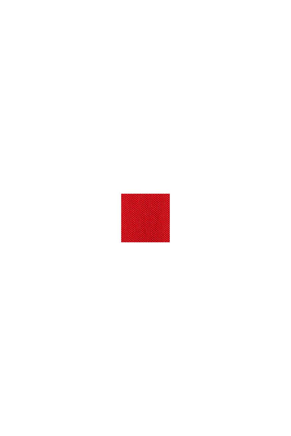 Pikétröja i 100% bomull, RED, swatch