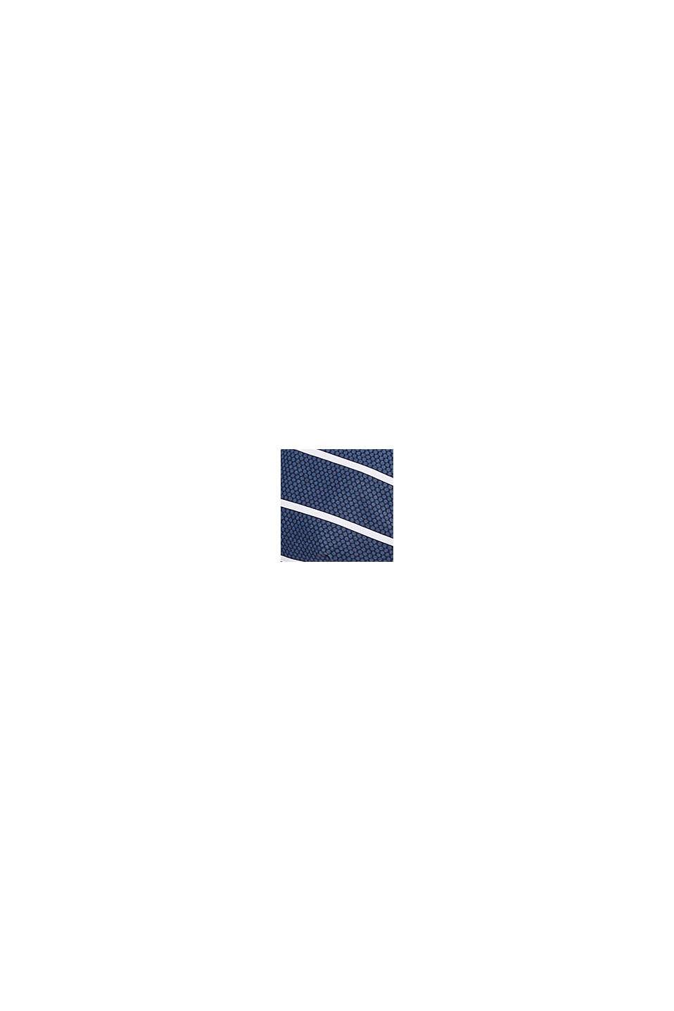 Unwattiertes Bügel-Top mit Streifen, DARK BLUE, swatch