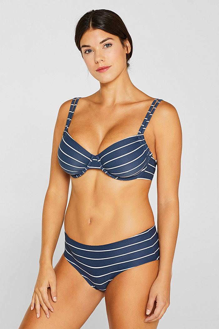 Unpadded underwire top for larger cups