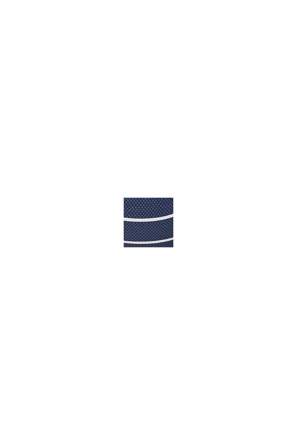 Vatteret balconette-top med striber, DARK BLUE, swatch