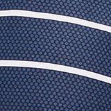 Printed, padded halterneck bikini top, DARK BLUE, swatch