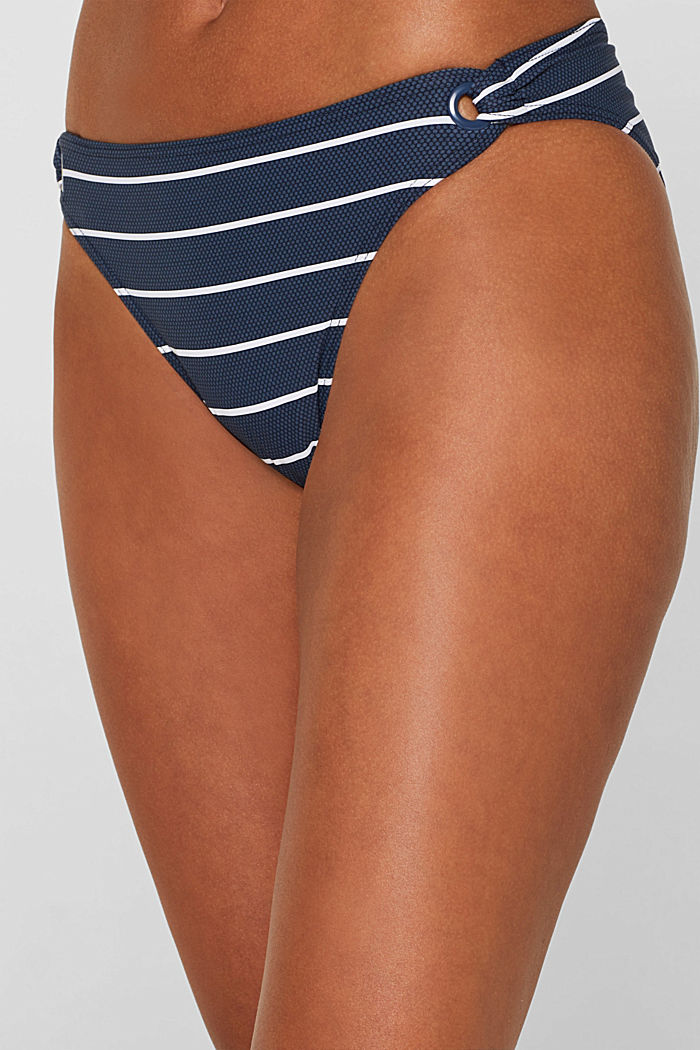 Mini briefs with stripes, DARK BLUE, detail image number 1