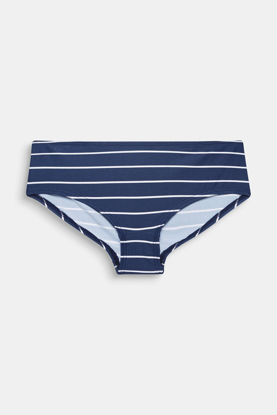 Hipster shorts with stripes, DARK BLUE, detail image number 3