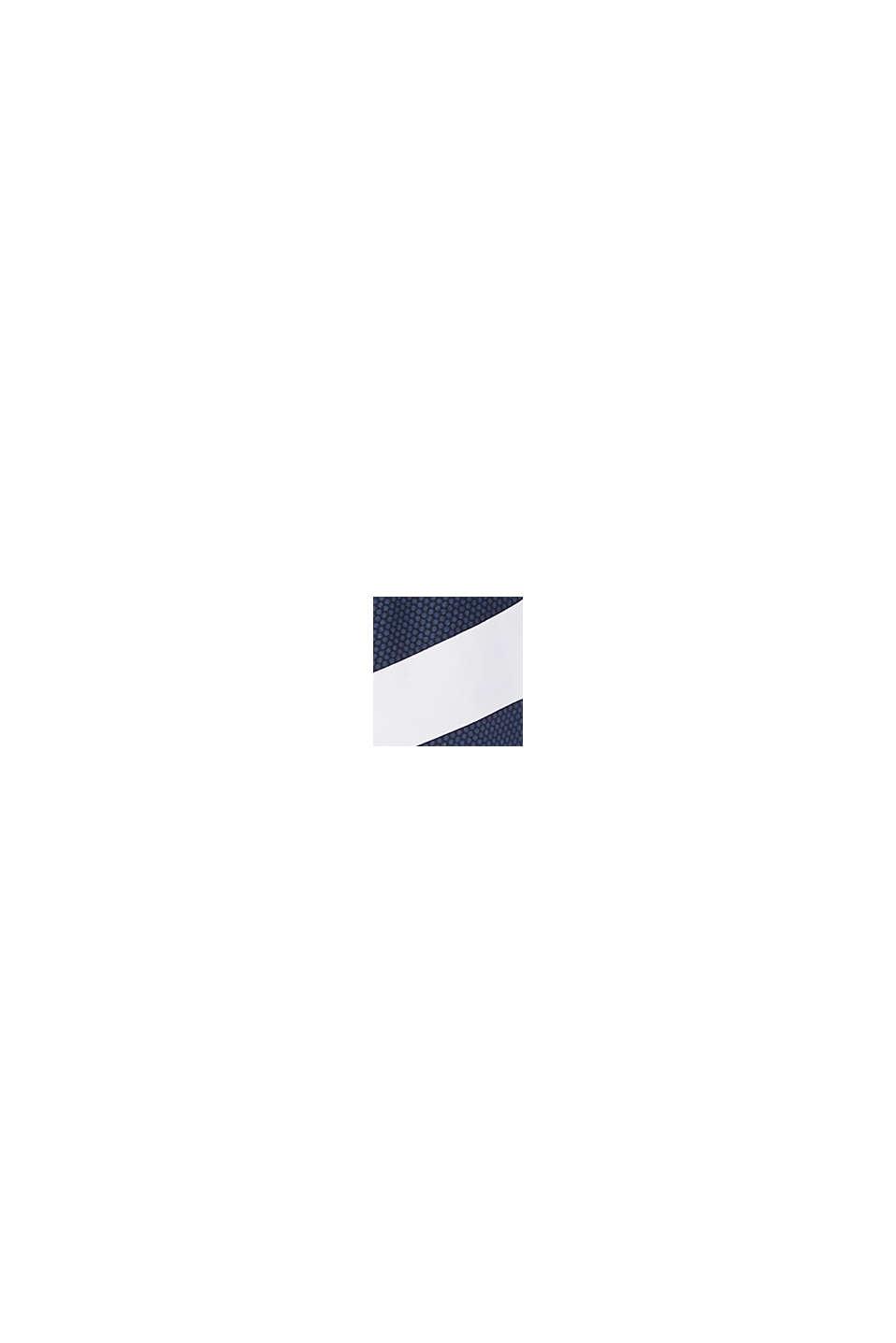 Neckholder-Top mit Streifen, DARK BLUE, swatch