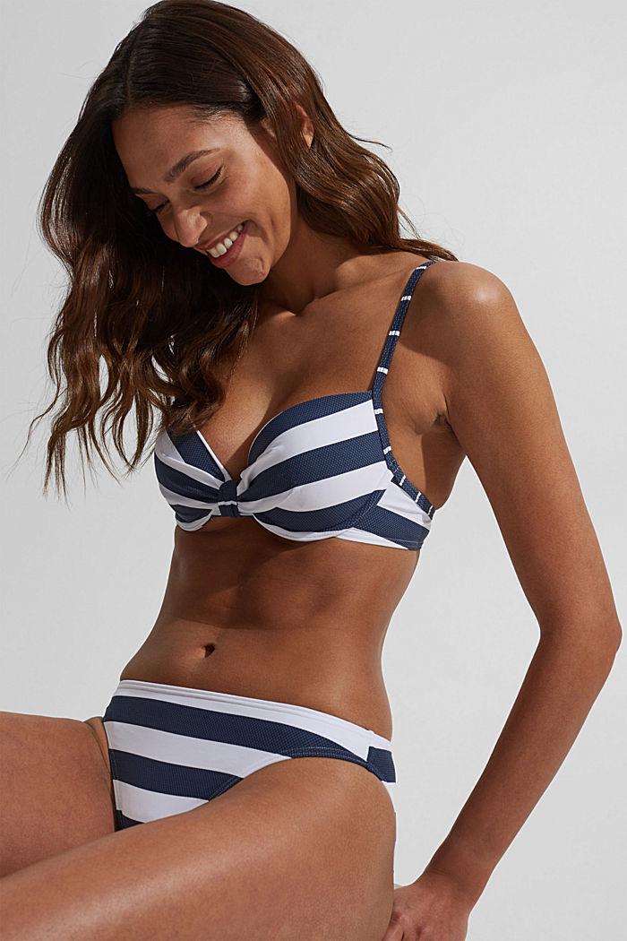Mini briefs with stripes, DARK BLUE, detail image number 4