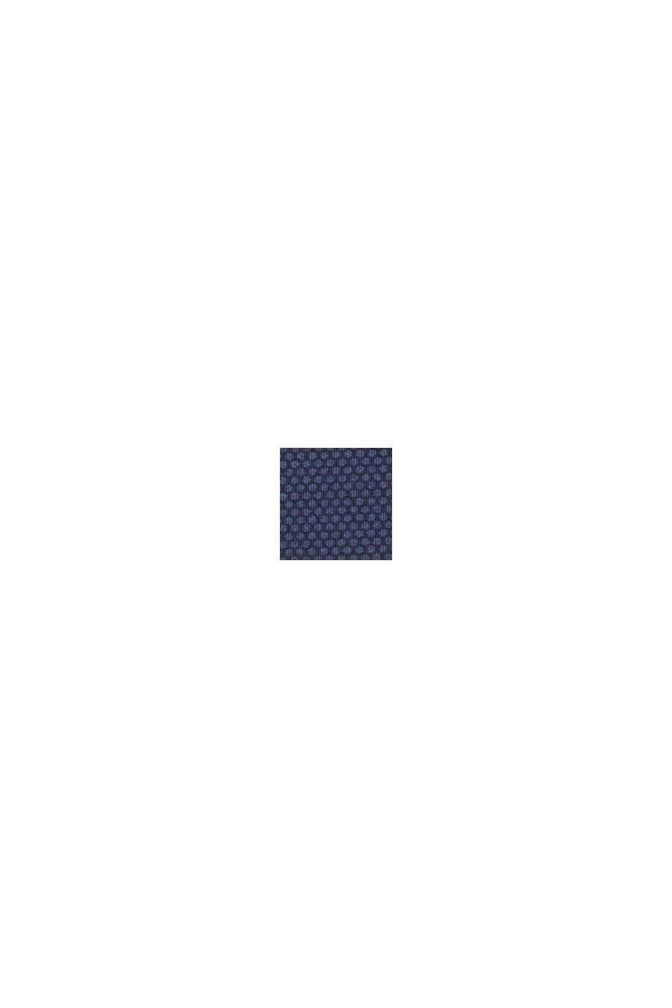 Maillot une pièce rembourré à rayures, DARK BLUE, swatch