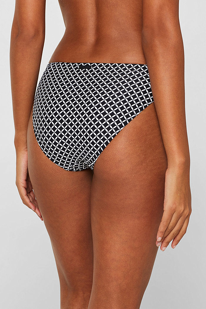 Mini briefs with a print, BLACK, detail image number 2