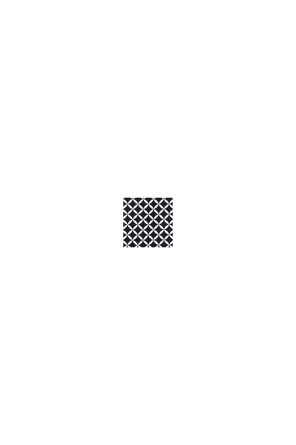 Maillot une pièce rembourré à imprimé, BLACK, swatch