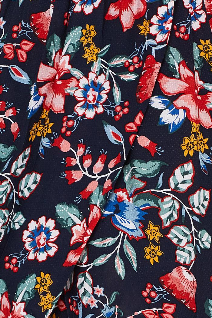 Freizeit-Kleid mit Blüten-Print, INK, detail image number 4