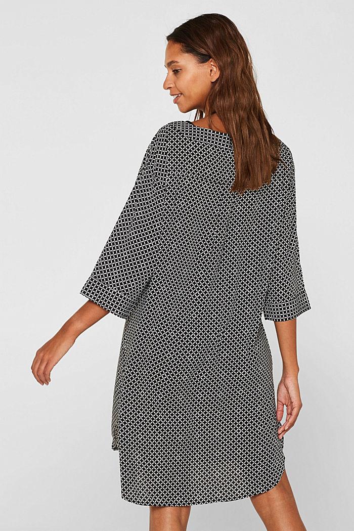 Tunika-Kleid mit Troddeln, BLACK, detail image number 1