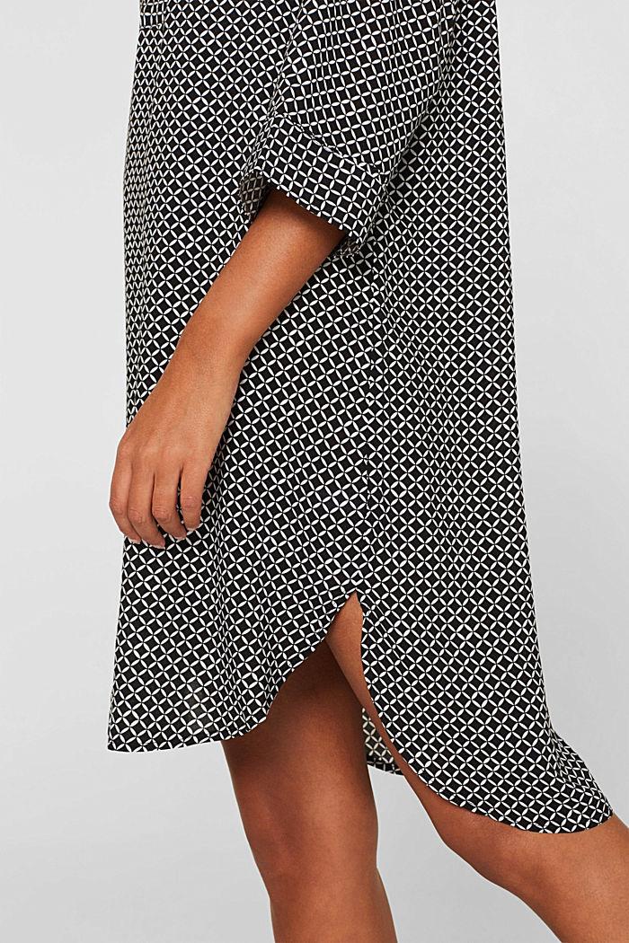 Tunika-Kleid mit Troddeln, BLACK, detail image number 3