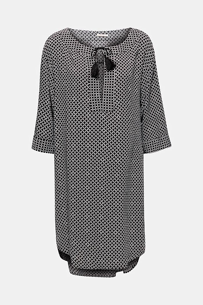 Tunika-Kleid mit Troddeln, BLACK, detail image number 2