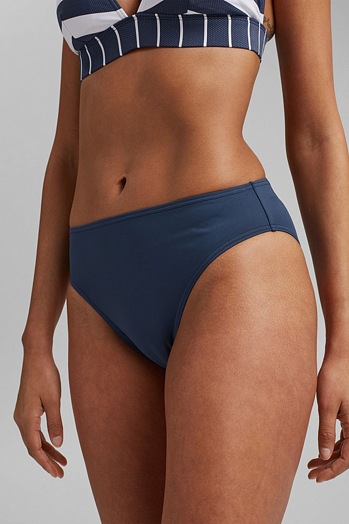 Midi briefs in a basic design, DARK BLUE, detail image number 2