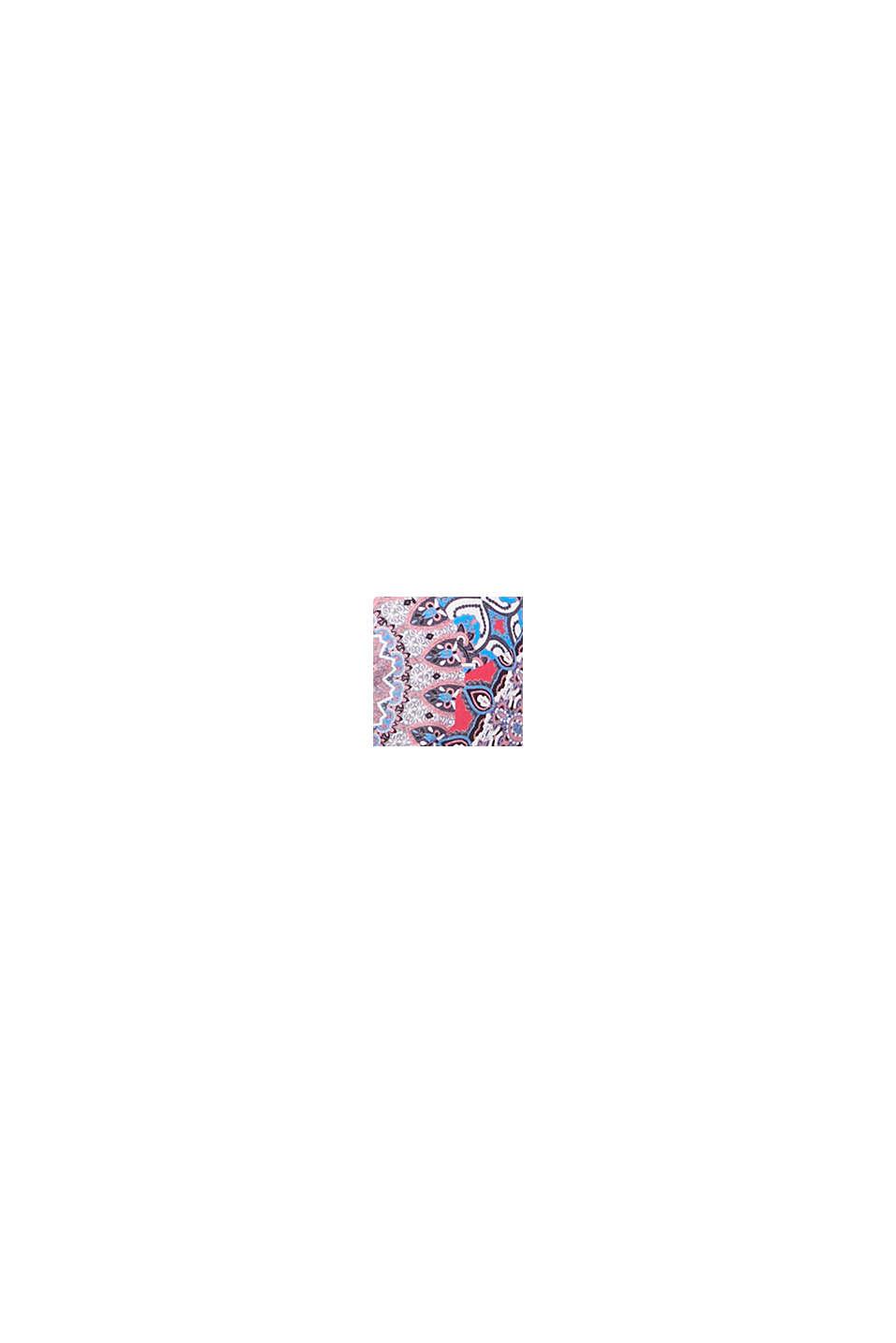 Vatteret bøjletop med print, RED COLORWAY, swatch