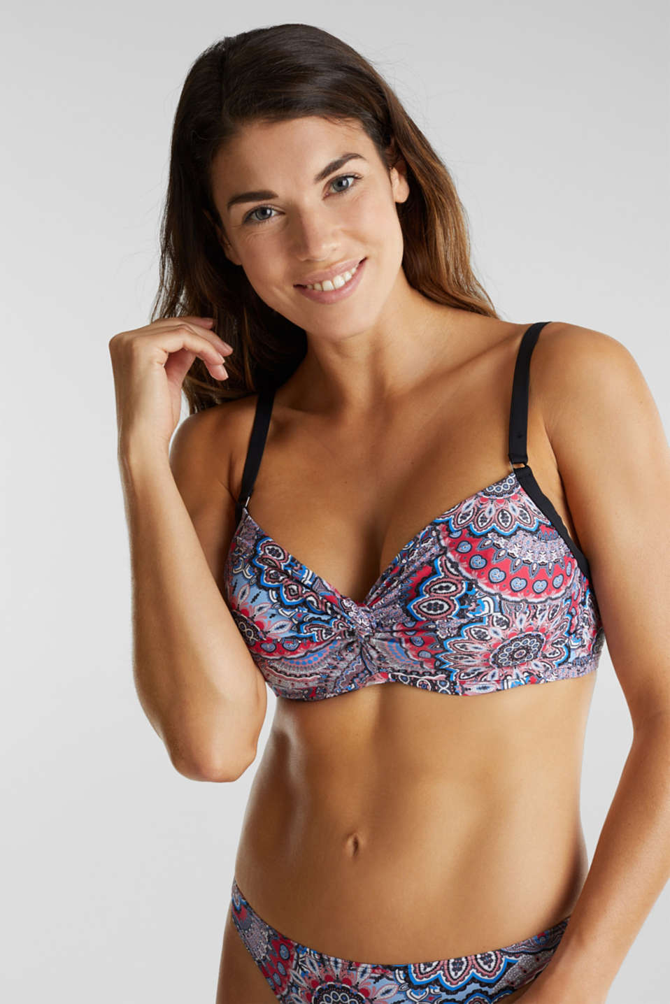 Esprit - Unpadded underwire top for larger cups