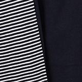 Jersey-Pyjama aus 100% Baumwolle, NAVY, swatch