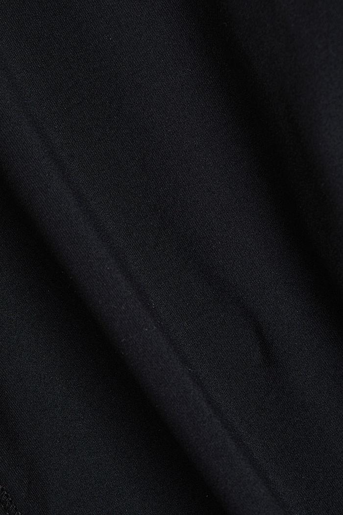 REPREVE® leggings, E-Dry, BLACK, detail image number 3