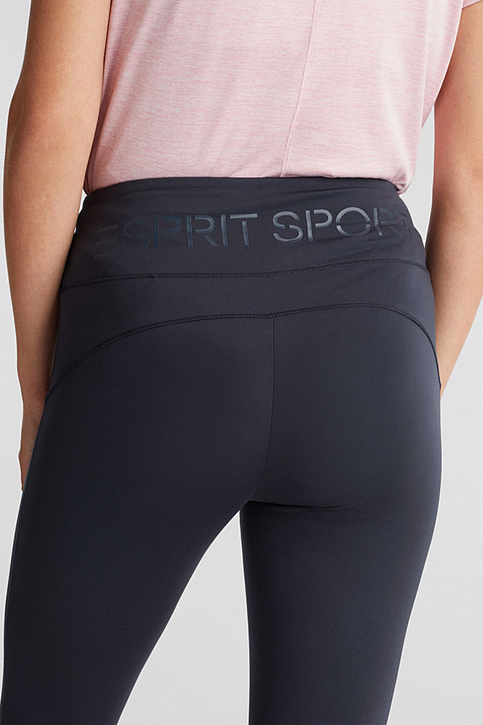 REPREVE® leggings, E-Dry, NAVY, detail image number 2