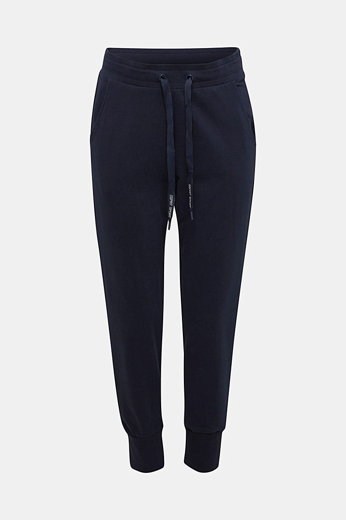 Tracksuit bottoms with organic cotton