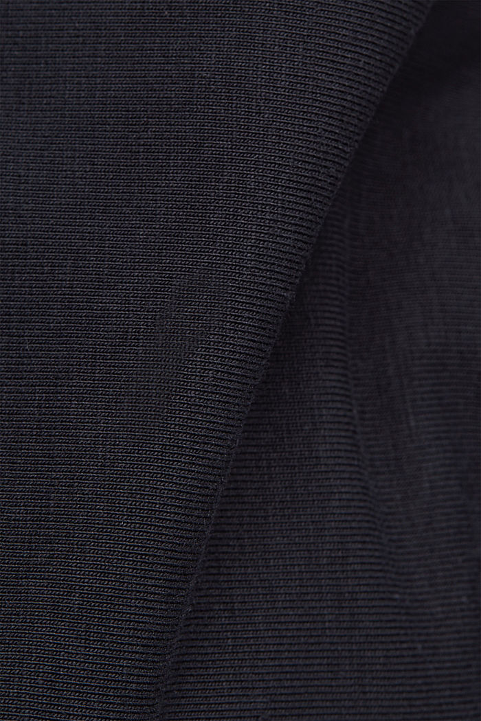 Jersey-Hose aus Organic Cotton, BLACK, detail image number 4