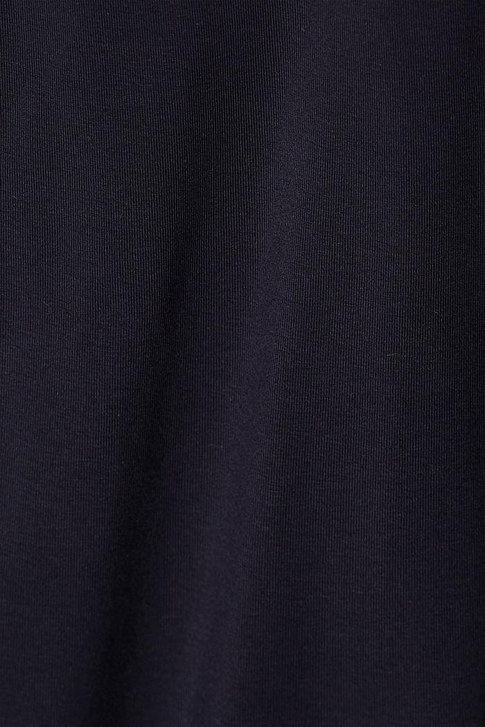 Jersey-Hose aus Organic Cotton, NAVY, detail image number 4