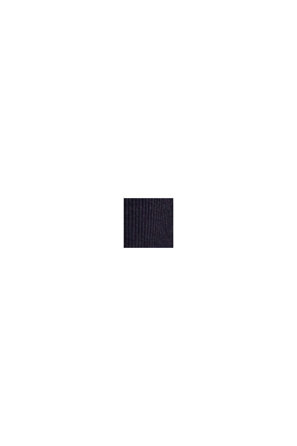Jersey broek van organic cotton, NAVY, swatch