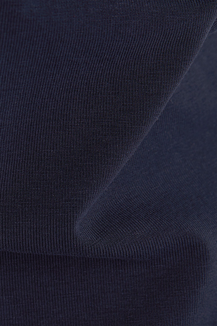 Jersey-Hose aus Organic Cotton, NAVY, detail image number 3