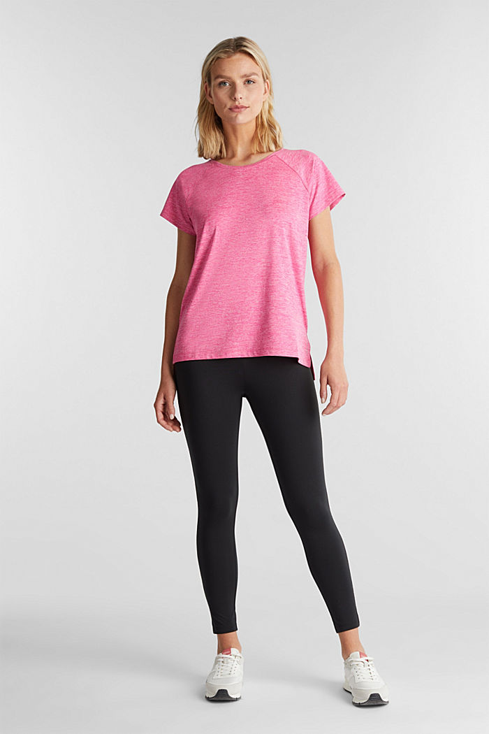 T-shirt REPREVE con E-DRY, PINK FUCHSIA, detail image number 1