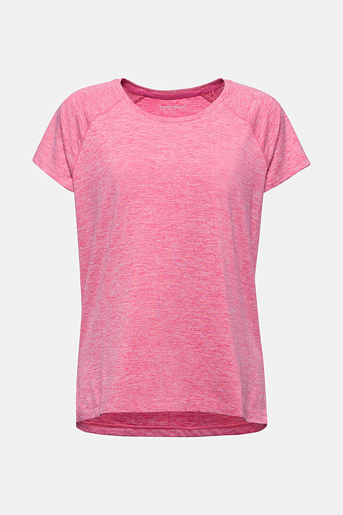 T-shirt REPREVE con E-DRY, PINK FUCHSIA, detail image number 5