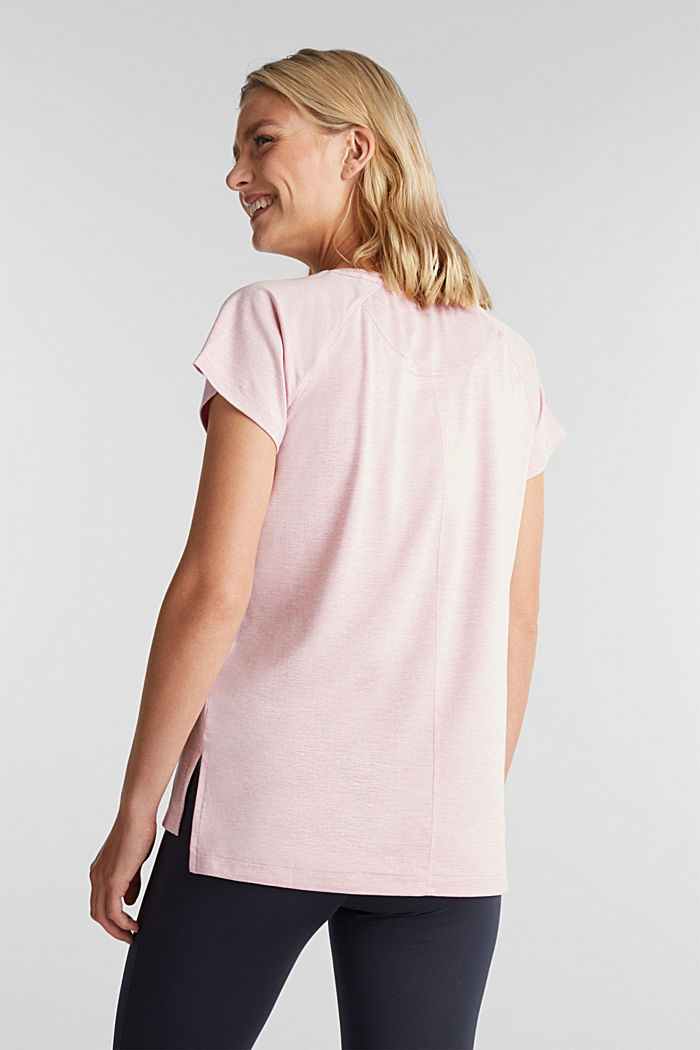 REPREVE T-Shirt mit E-DRY, LIGHT PINK, detail image number 3