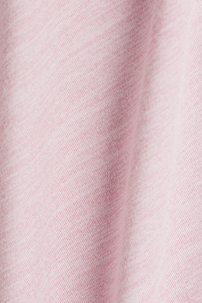 REPREVE T-Shirt mit E-DRY, LIGHT PINK, detail image number 4