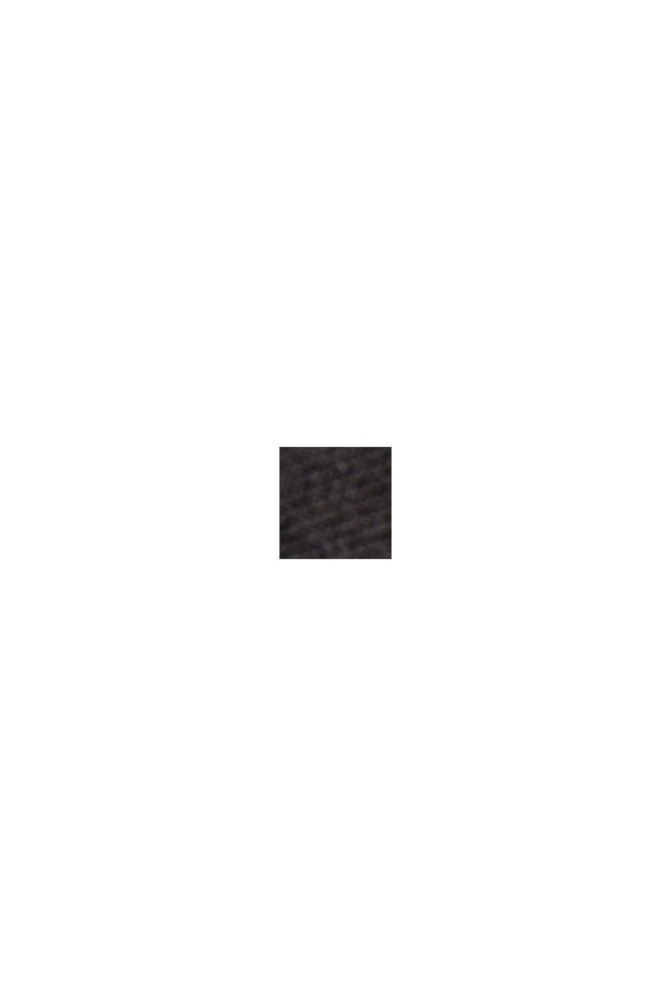 Genanvendte materialer: Plisseret nederdel med elastiklinning, BLACK, swatch